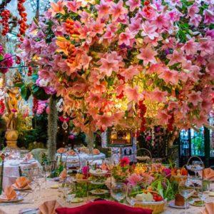 Mangiare tra piante e fiori: la nostra top 5